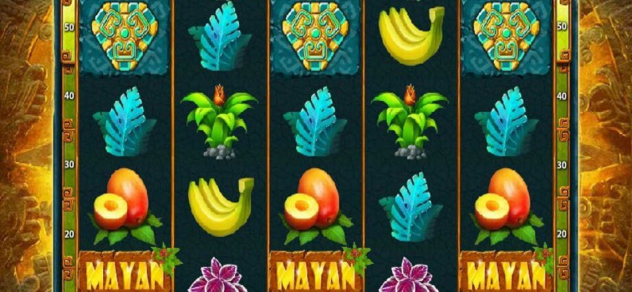 Overview Of The Mayan Magic Slots Online Game