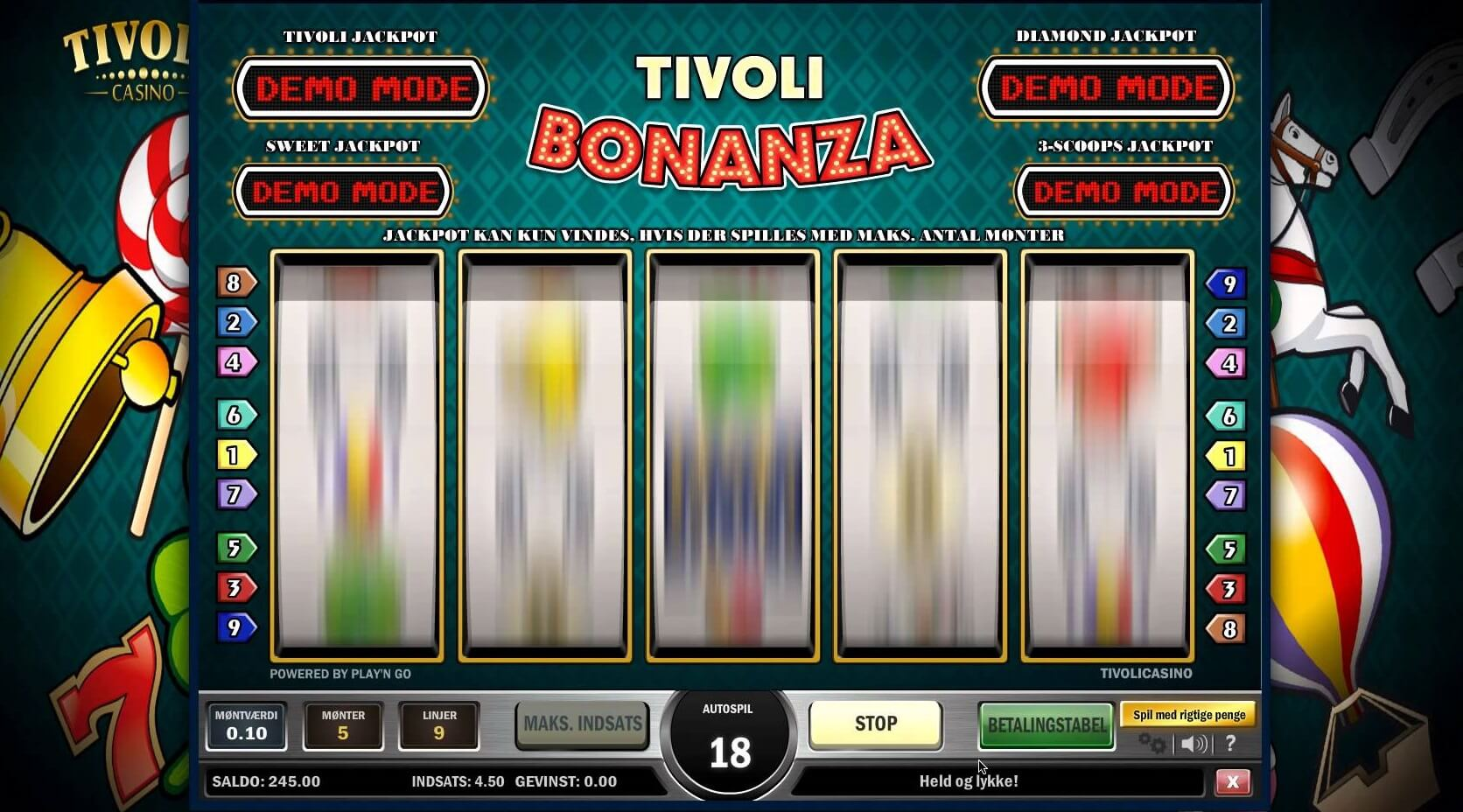 Tivoli Bonanza Online Slot Review & Guide Online
